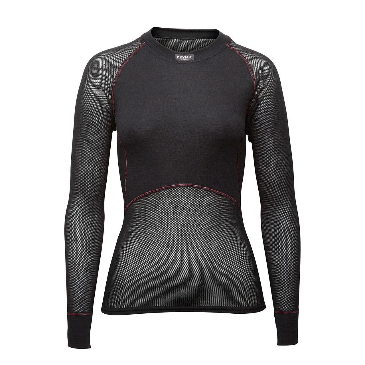 Women's Wool Thermo Light Long Sleeve Shirt - Black