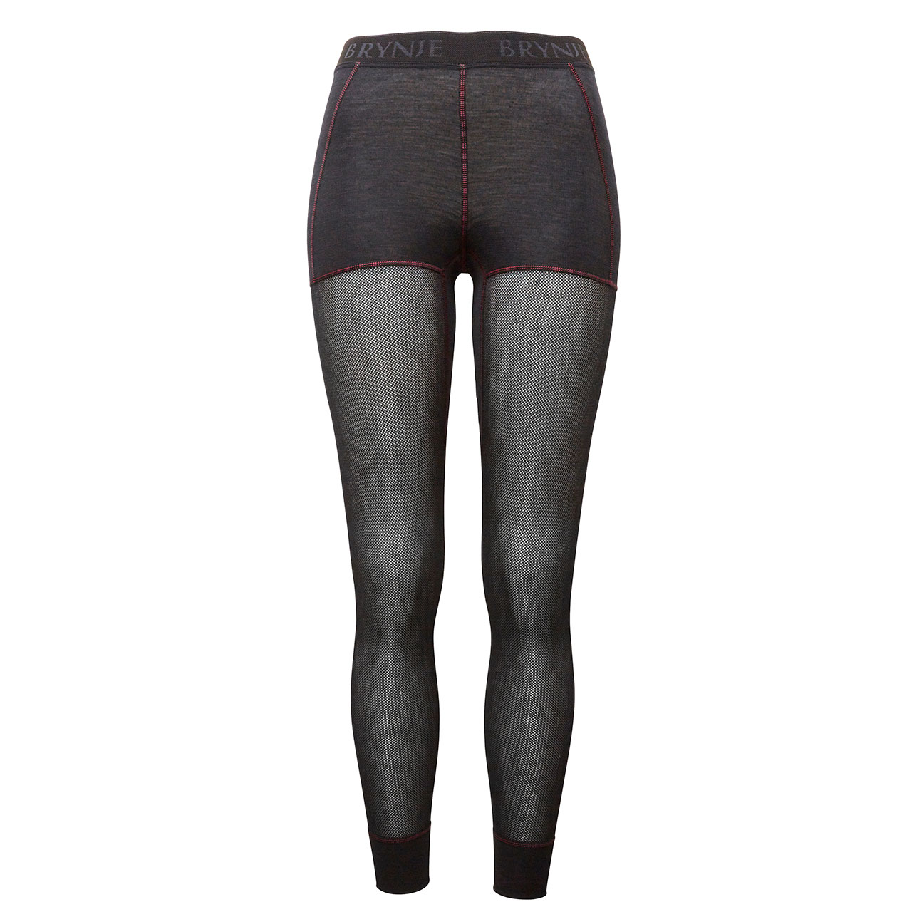 Women's Wool Thermo Light Longs with Shorts - Black