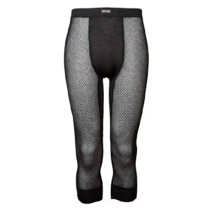 Wool Thermo 3/4 Longs - Black