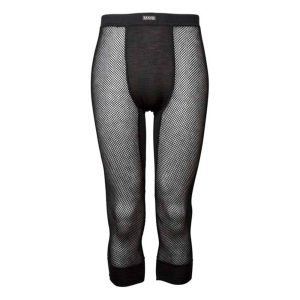 Wool Thermo Light 3/4 Longs - Black