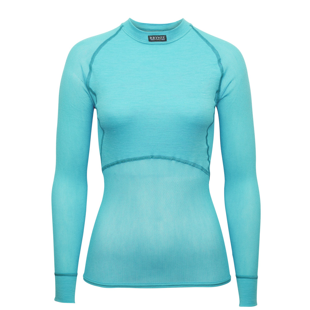 Women's Wool Thermo Light Long Sleeve - Aqua