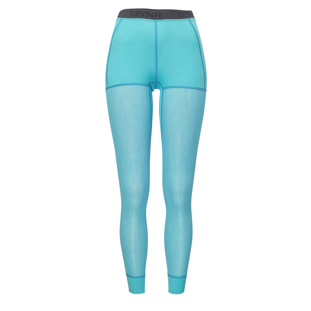 Women's Wool Thermo Light Longs - Aqua