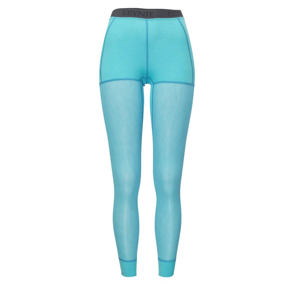 Women's Wool Thermo Light Longs - Aqua