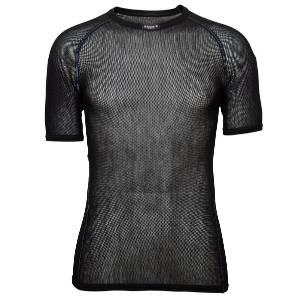 Wool Thermo Light T-Shirt - Black