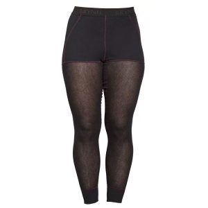 Women's Wool Thermo Light 3/4 Longs - Black