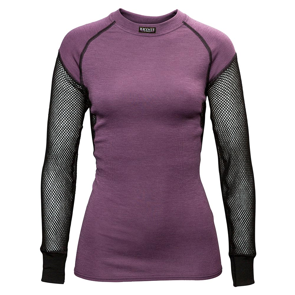 Women's Wool Thermo Long Sleeve Shirt with Inlay