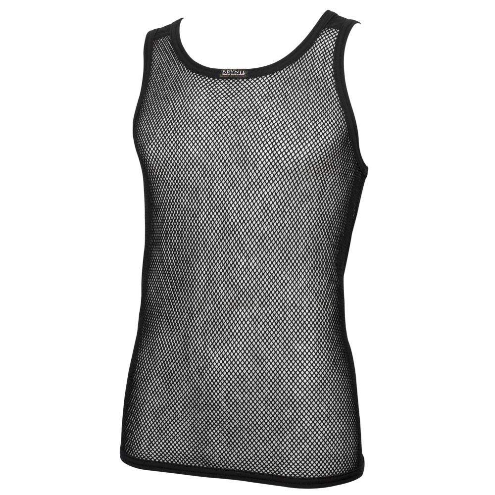 Wool Thermo A-Shirt - Black
